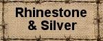 Rhinestone & Silver
