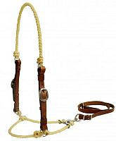 13500 Lariat rope tie down with leather cheeks