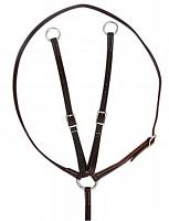 175615 Argentina cow leather running martingale