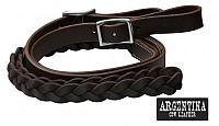 190581 7 ft Argentina cow leather contest reins