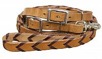 19063 8ft Argentina cow leather braided rein