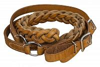 19101 7ft Agentina cow leather contest reins