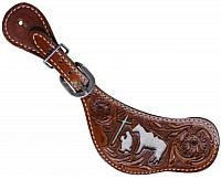30629 Ladies Praying Cowboy Racer Spur Straps