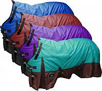 75026 The Waterproof and Breathable Showman ® Perfect Fit 1200 Denier Turnout Blanket