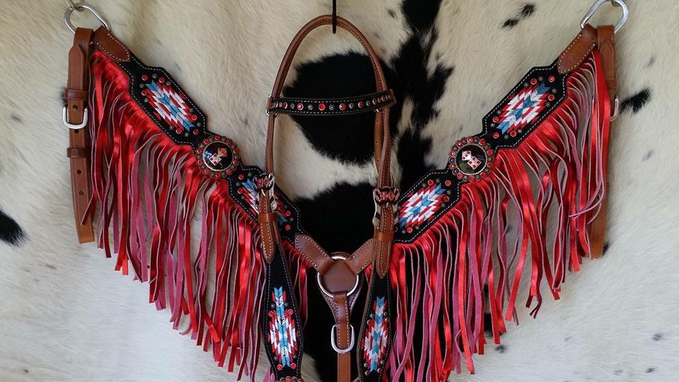 30216 Navajo dice fringe set