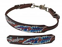 176057 Freedom Feather wither strap