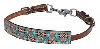 19302 Navajo print wither strap
