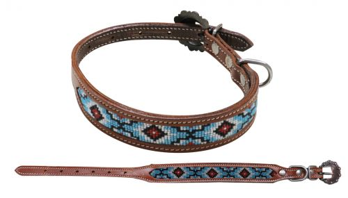 DC-02 Beaded Dog Collar
