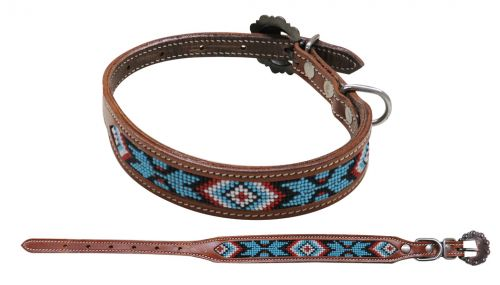 DC-03 Beaded Dog Collar