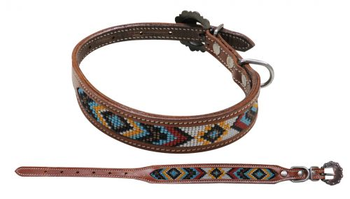 DC-04 Beaded Dog Collar